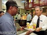 Bush bei Wendys