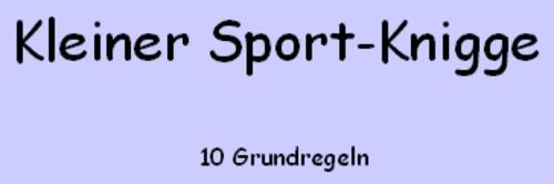 Sportknigge