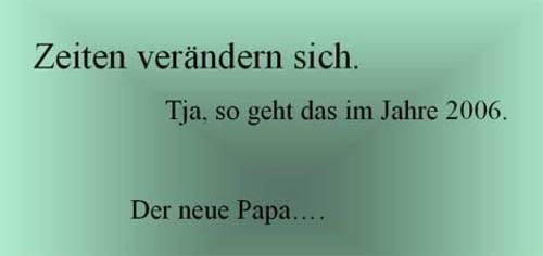 Neuer Papa